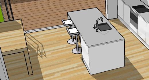 Praktische keuken indeling for Praktische indeling huis